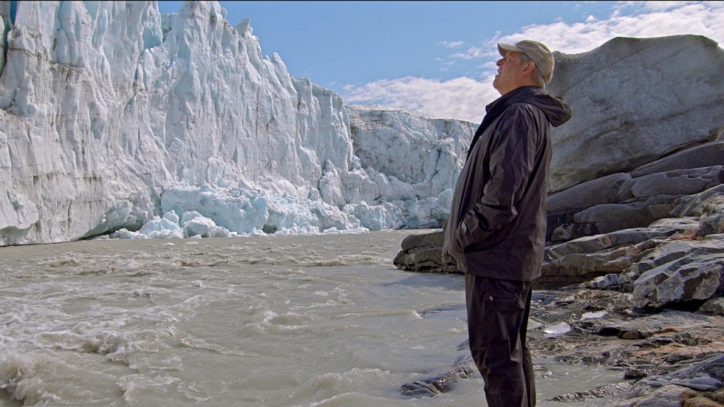 Al Gore in Greenland as seen in An Inconvenient Sequel: Truth To Power from Paramount Pictures and Participant Media.