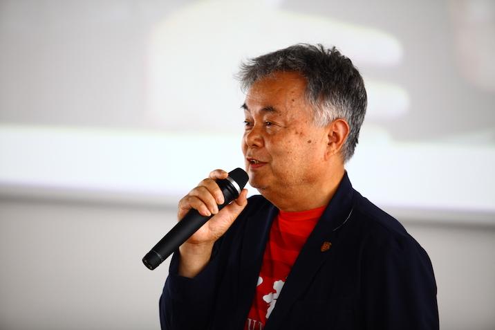 八天狗株式会社社長、竹元茂一さん