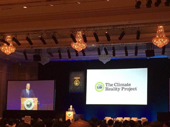 気候変動を伝えるために集まった800人にアル・ゴア注入!「クライメート・リアリティ・プロジェクト」東京トレーニングレポート